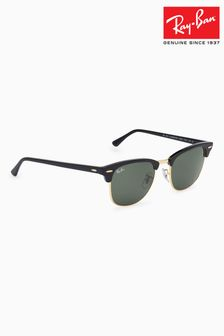 Black Ray-Ban® Clubmaster Sunglasses