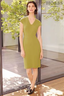Hobbs Green Louisa Dress