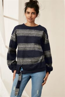 Stripe Cosy Top