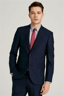 Wool Blend Machine Washable Suit