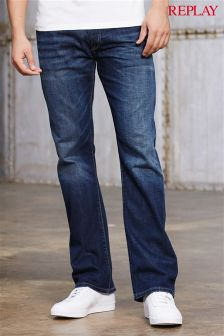 Mens Bootcut Jeans | Stretch & Belted Bootcut Jeans | Next UK