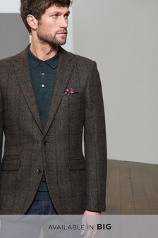 Signature Donegal British Wool Slim Fit Jacket