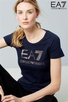 Emporio Armani EA7 Navy Caviar Tee