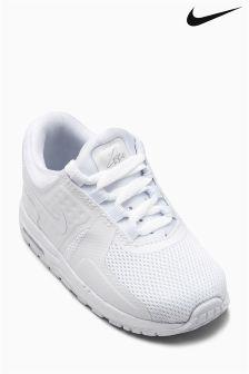 Nike White Air Max Zero