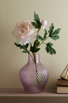 Pressed Glass Vase