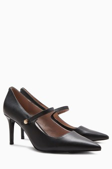 Heritage Leather Mary Janes