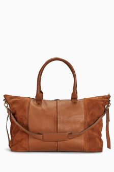 Leather Holdall Bag