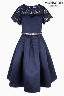 Monsoon Navy Quinn Dress