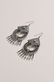 Boho Statement Drop Earrings