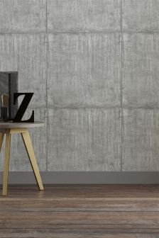 Paste The Wall Large Concrete Block Wallpaper