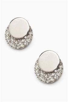 Sparkle Disc Earrings
