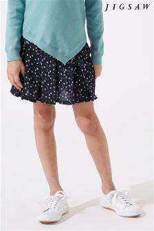 Jigsaw Blue Ditsy Dandelion Skirt