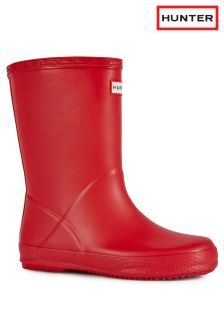 Hunter First Classic Red Wellington Boot