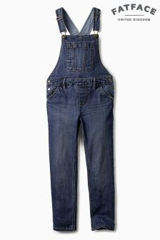 Fat Face Denim Dungarees