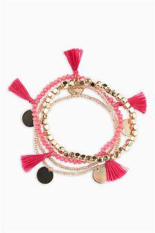 Tassel Expander Bracelet Pack