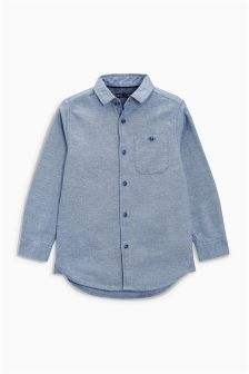 Long Sleeve Textured Shirt (3-16yrs)