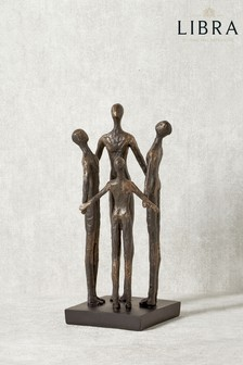Libra Family Circle Sculpture