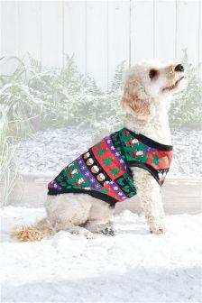 Family Christmas Dog Jumper