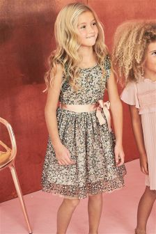 Lace Printed Prom Dress (3-14yrs)