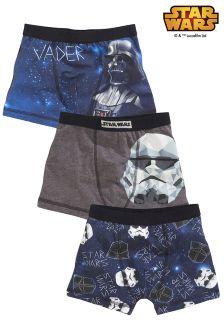 Three Pack Star Wars™ Trunks (3-14yrs)