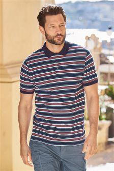 Stripe Poloshirt