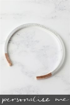 Personalised Bangle By Lisa Angel