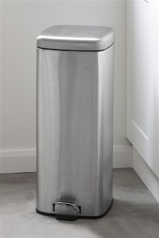 Stainless Steel 30L Square Bin