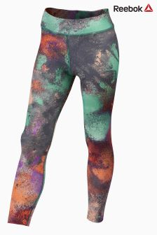 Reebok Green Girl Squad Kids Colorflash Legging