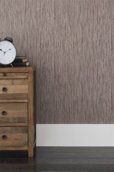 Paste The Wall Grasscloth Textured Wallpaper