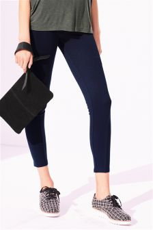 Ponte Zip Leggings