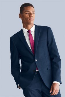 Navy Pinstripe Suit Wedding - Ocodea.com