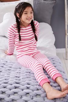 Stripe Snuggle Thermal Set (2-16yrs)