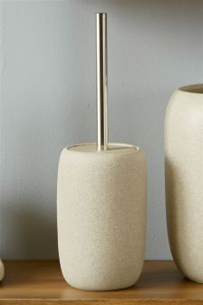 Stone Effect Resin Toilet Brush