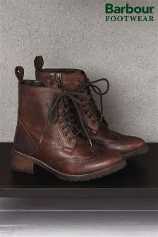 Barbour® Brown Camden Brogue Boot