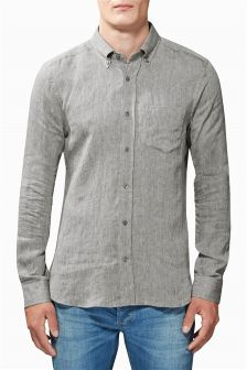 Long Sleeve Premium Linen Shirt