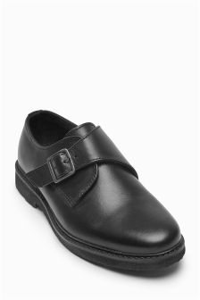 Monk Leather Shoes (Older Boys)
