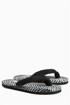 Toe Thong Slippers
