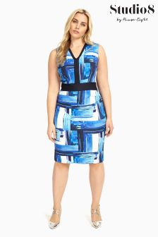 Studio 8 Blue Hilary Dress