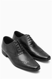 Wide Fit Oxford Brogue