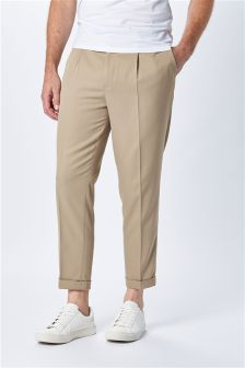 Voluminous Pleated Trousers