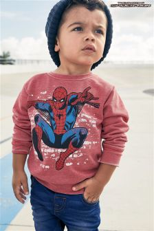 Long Sleeve Spider-Man™ Crew (3mths-6yrs)