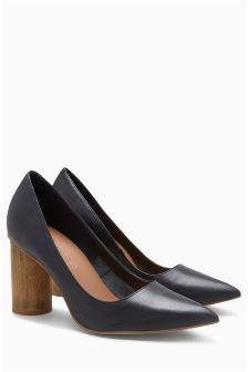 Cylinder Heel Shoes