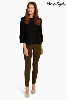Phase Eight Khaki Victoria Seamed Jean