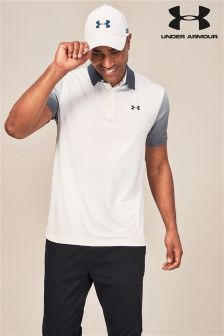 Under Armour Golf Play Off White Polo