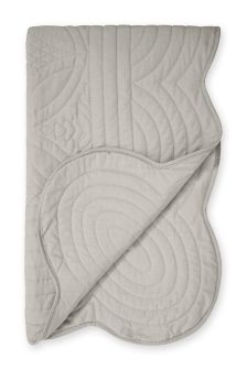 Scallop Quilted Throw