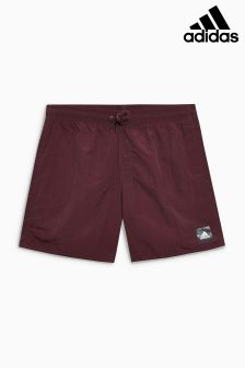 adidas Burgundy Swim Short
