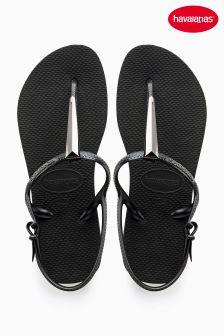 Havaianas® Freedom SL Maxi Black Sandal