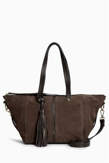 Leather Casual Grab Bag