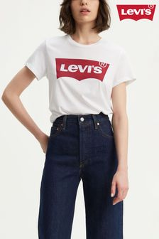 Levi's® The Perfect Batwing White Tee