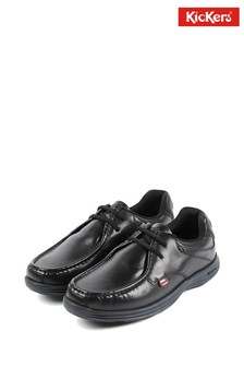 Kickers® Black Reasan Lace